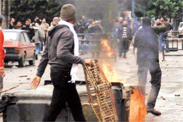 أعمال الشغب فى أحداث يناير ٢٠١١