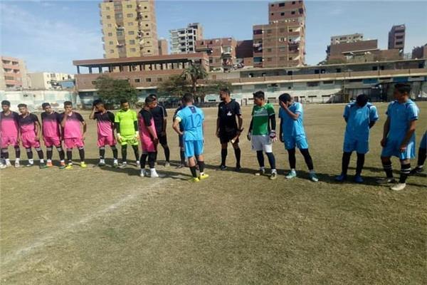 فريق كرة القدم بنادي المنيا