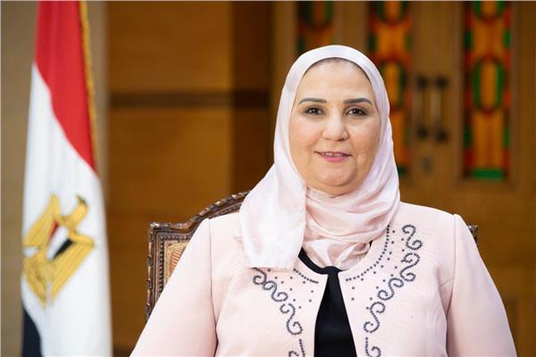وزيرة التضامن الإجتماعي د. نفين القباج