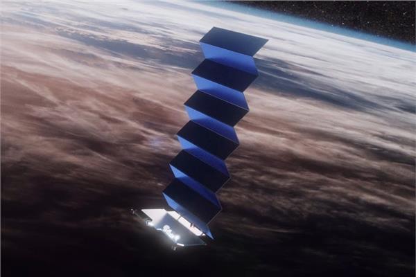 قمر صناعي بوصلة ليزر