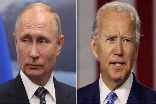 جو بايدن وفلاديمير بوتين