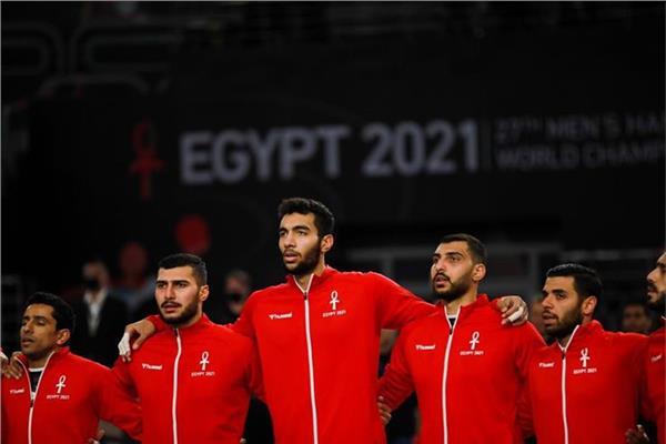 صورة للاعبي منتخب مصر