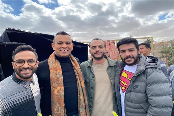 عبد الرحمن رشدي مع الليثي وأحمد كامل