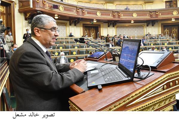 وزير الكهرباء والطاقة الدكتور محمد شاكر