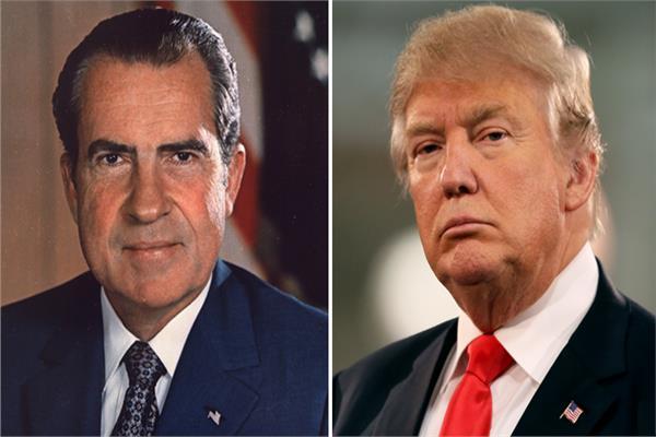 دونالد ترامب وريتشارد نيكسون