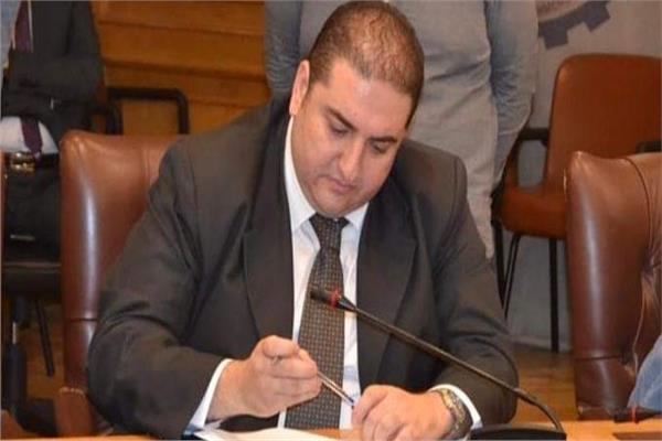 متي بشاي نائب رئيس شعبة الأدوات الصحية بغرفة القاهرة التجارية