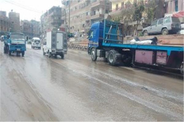 أمطار وصقيع تضرب محافظة القليوبية