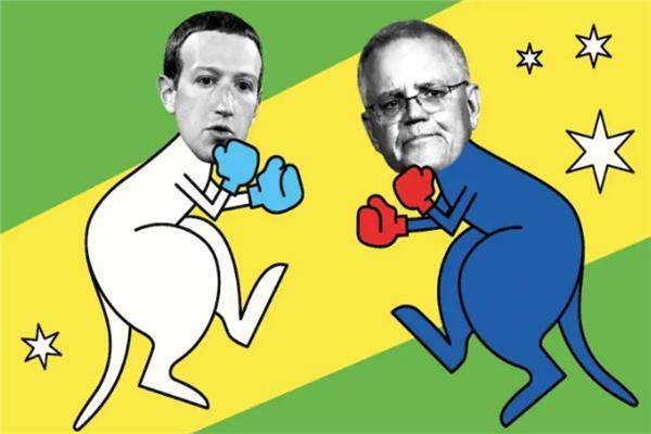 صراع فيسبوك و استراليا