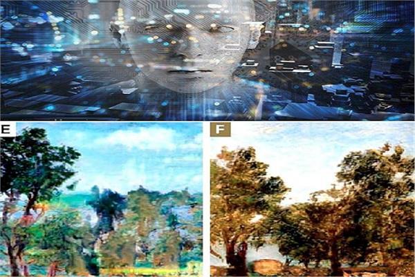 صورة الذكاء الاصطناعي ينافس المبدعين في الأعمال الفنية