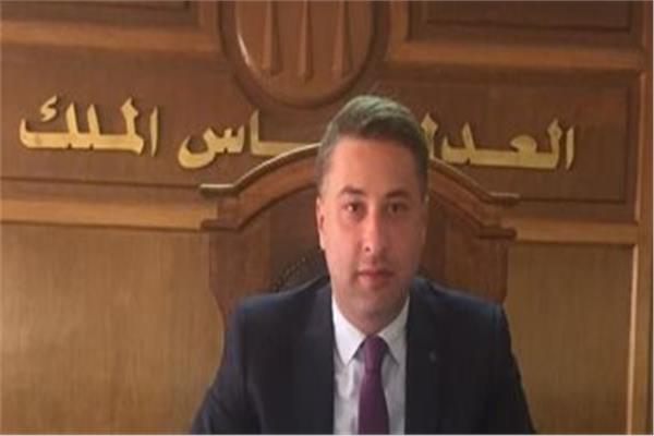 المستشار محمد هاشم- رئيس المحكمة