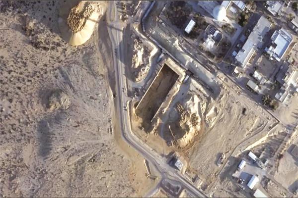 صورة التقطتها أقمار صناعية بمنشأة نووية إسرائيلية