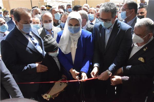 افتتاح مستشفي الاورمان لسرطان الاطفال بالصعيد
