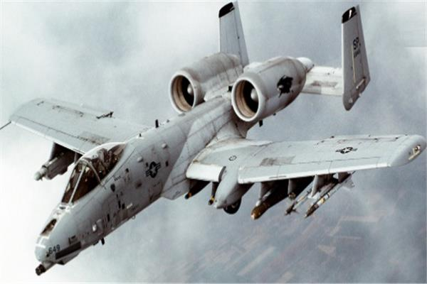 المقاتلة «A-10 warthog»