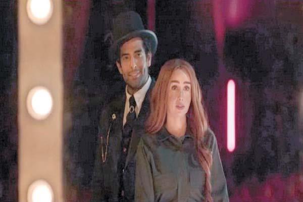 هنا الزاهد ومحمد كيلانى فى مشهد من «حلوة الدنيا سكر»