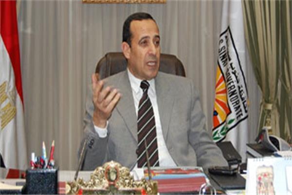 اللواء محمد عبدالفضيل محافظ شمال سيناء