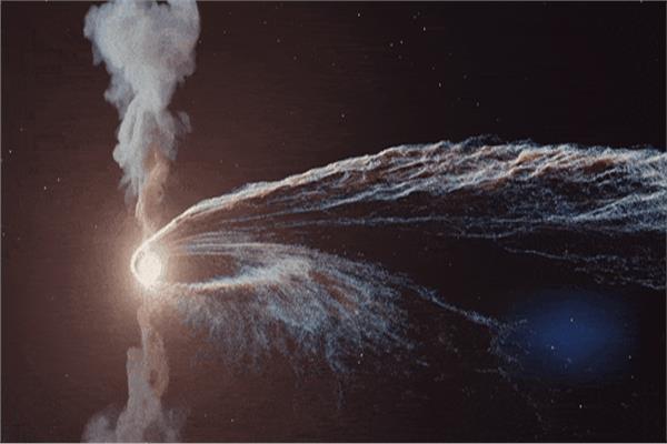 صورة فيديو| علماء تكتشف الحالة التي تحدث عند تدمير نجم عملاق