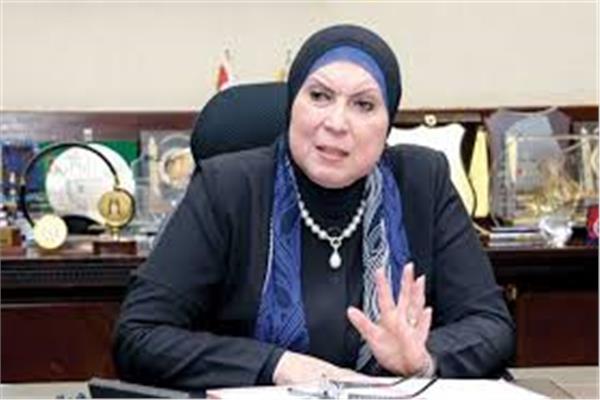 وزيرة الصناعة والتجارة نيفين جامع