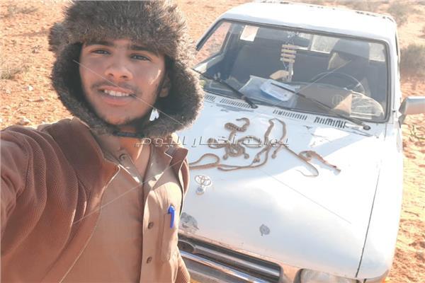 احد سكان الصحراء الغربية بمطروح