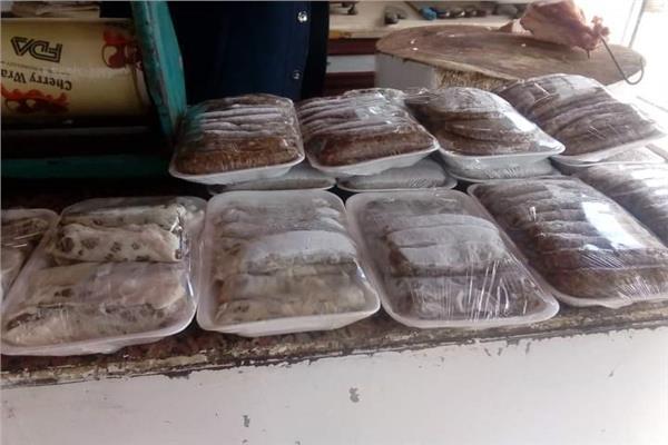 ضبط كميات من الدواجن واللحوم منتهية الصلاحية ببور فؤاد