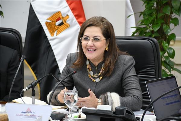 الدكتورةهالة السعيد وزيرة التخطيط
