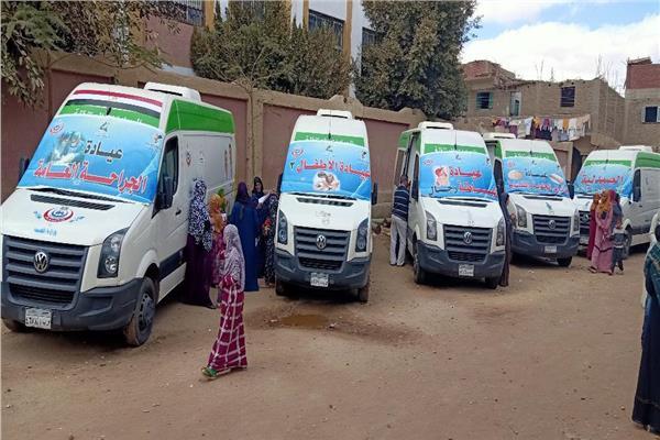 صحة المنيا تقدم الخدمات الطبية والعلاجية لـ 1779 مواطن بقرية الشيخ مسعود بمركز العدوة