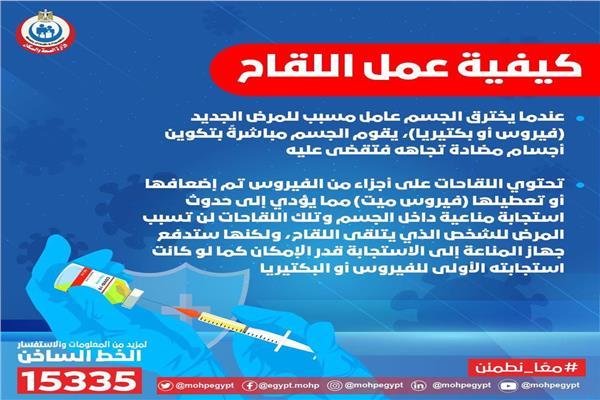 اللقاحات للوقاية من الأمراض المعدية