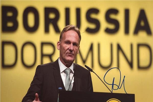 هانز يواخيم فاتسكه الرئيس التنفيذي لبوروسيا دورتموند الألماني