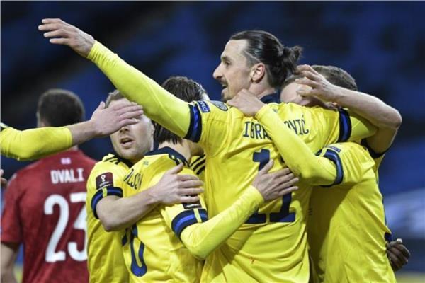إبراهيموفيتش يساهم في فوز السويد على جورجيا