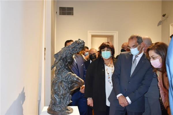 وزيرة الثقافة تعيد افتتاح متحف محمود خليل