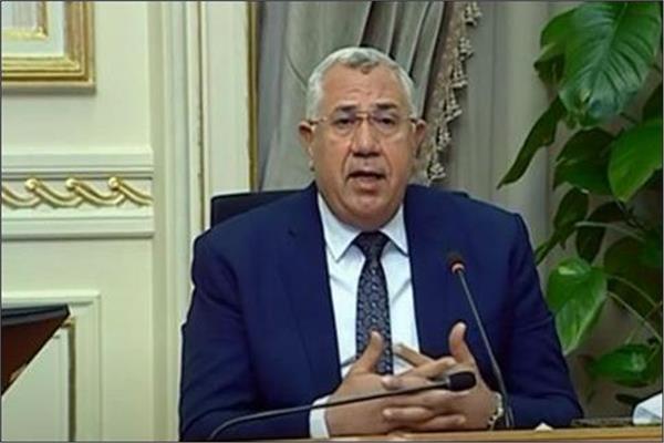 السيد القصير وزير الزراعة واستصلاح الأراضى