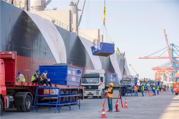 السفينة CLIPPER ISADORA ميناء شرق بورسعيد الى ساحل العاج