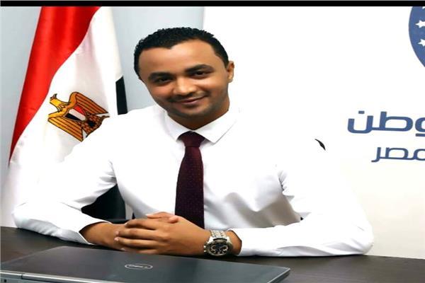 وائل الشريف  عضو شعبة المقاولات والاستثمار العقاري بغرفة الجيزة التجارية