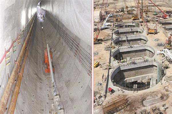 مشروعات البنية القومية لتنمية سيناء تسير على قدم وساق