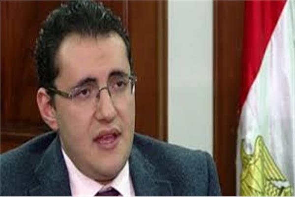 مساعد وزيرة الصحة والسكان للإعلام والتوعية والمتحدث الرسمي للوزارة د.خالد مجاهد
