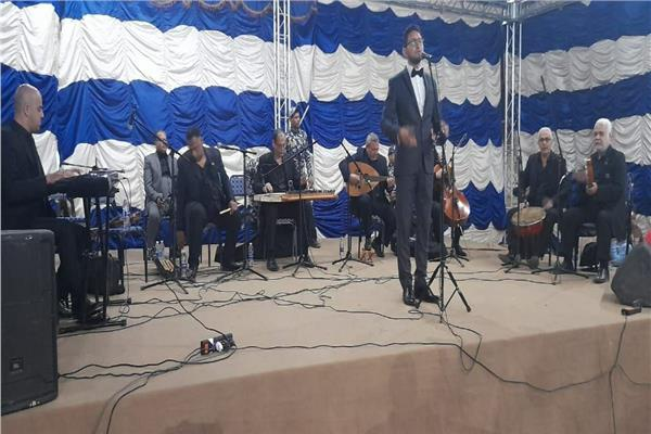 فرقة دار الأوبرا المصرية للموسيقى العربية تواصل عروضها بقرى الأقصر