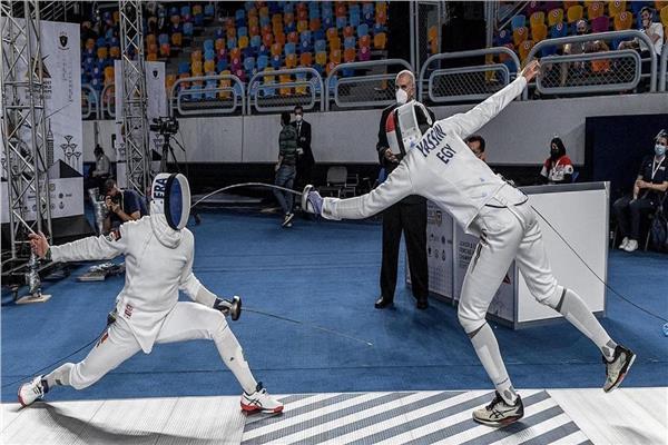 الأولمبية تهنىء اتحاد السلاح ببرونزية بطولة العالم