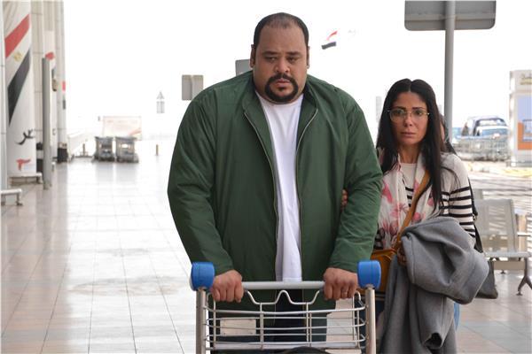 محمد ممدوح ومني زكي