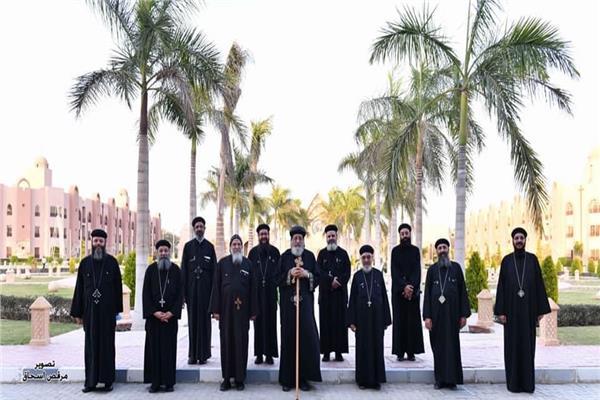 اجتماع البابا تواضرس مع كهنة كنائس مدينة العبور