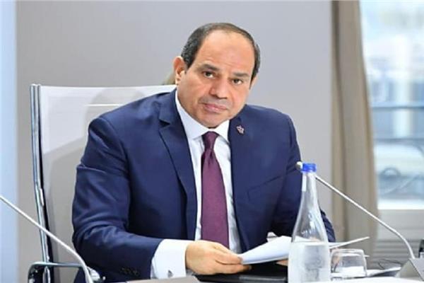 الرئيس عبد الفتاح السيسي خلال اجتماع بحث منظومة الري الحديث