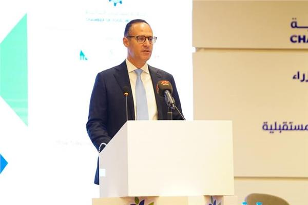 المهندس اشرف الجزايرلي رئيس مجلس ادارة غرفة الصناعات الغذائية باتحاد الصناعات