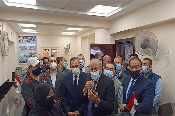 الدكتور علي المصيلحي وزير التموين والتجارة الداخلية