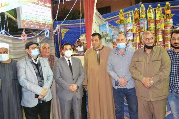 مستقبل وطن المنيا يفتتح معرض أهلا رمضان لبيع السلع الغذائية بأسعار مخفضة بملوي
