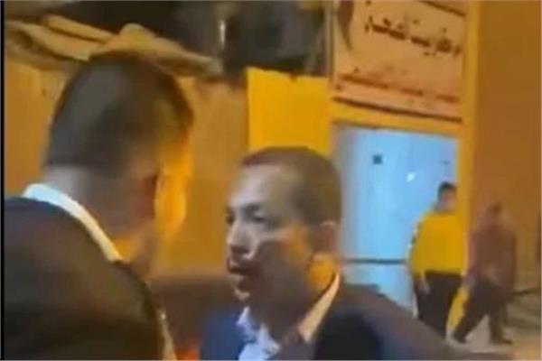 المتهم بالتعدي علي ضابط شرطة