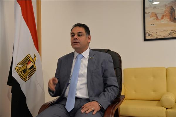 المهندس أحمد يوسف الرئيس التنفيذي للهيئة المصرية العامة للتنشيط السياحي