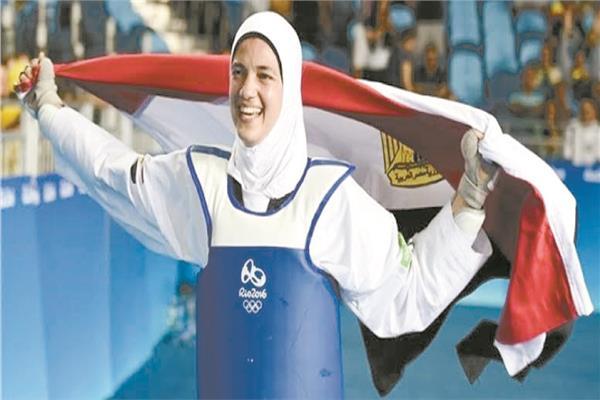 هداية ملاك تسعى لتحقيق ميدالية جديدة أولمبية فى طوكيو ٢٠٢١