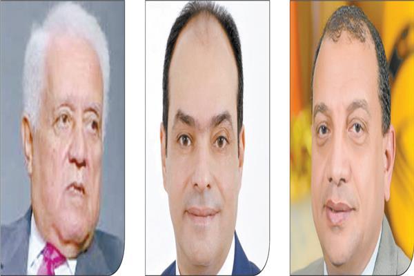 د. منصور حسن /  د. محمد لطيف /  د. هشام مخلوف