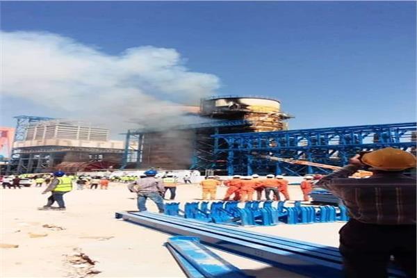 تفاصيل حريق مصنع القناة للسكر بملوي