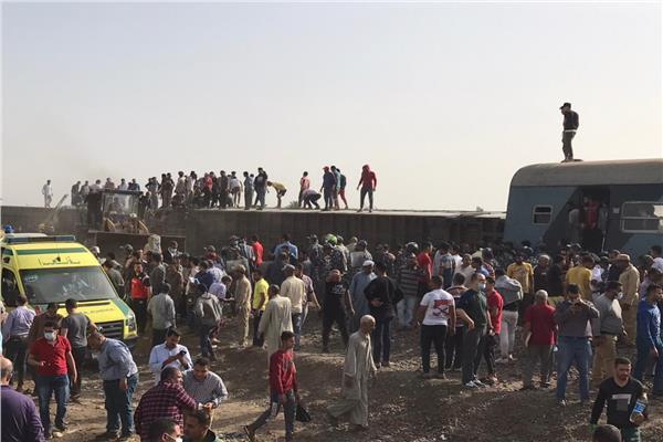 حادث قطار طوخ في القليوبية