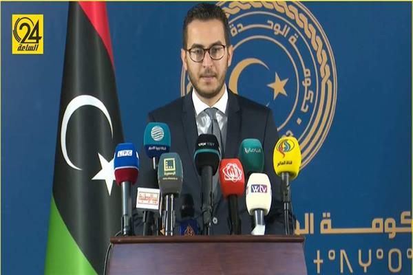 المتحدث باسم حكومة الوحدة الوطنية في ليبيا محمد حمودة