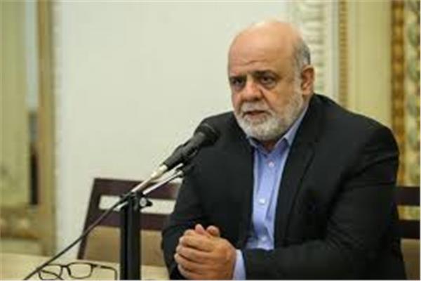 السفير الإيراني في العراق ايرج مسجدي